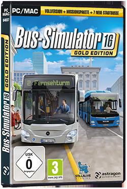 bus simulator 2016 gold edition astragon. Black Bedroom Furniture Sets. Home Design Ideas
