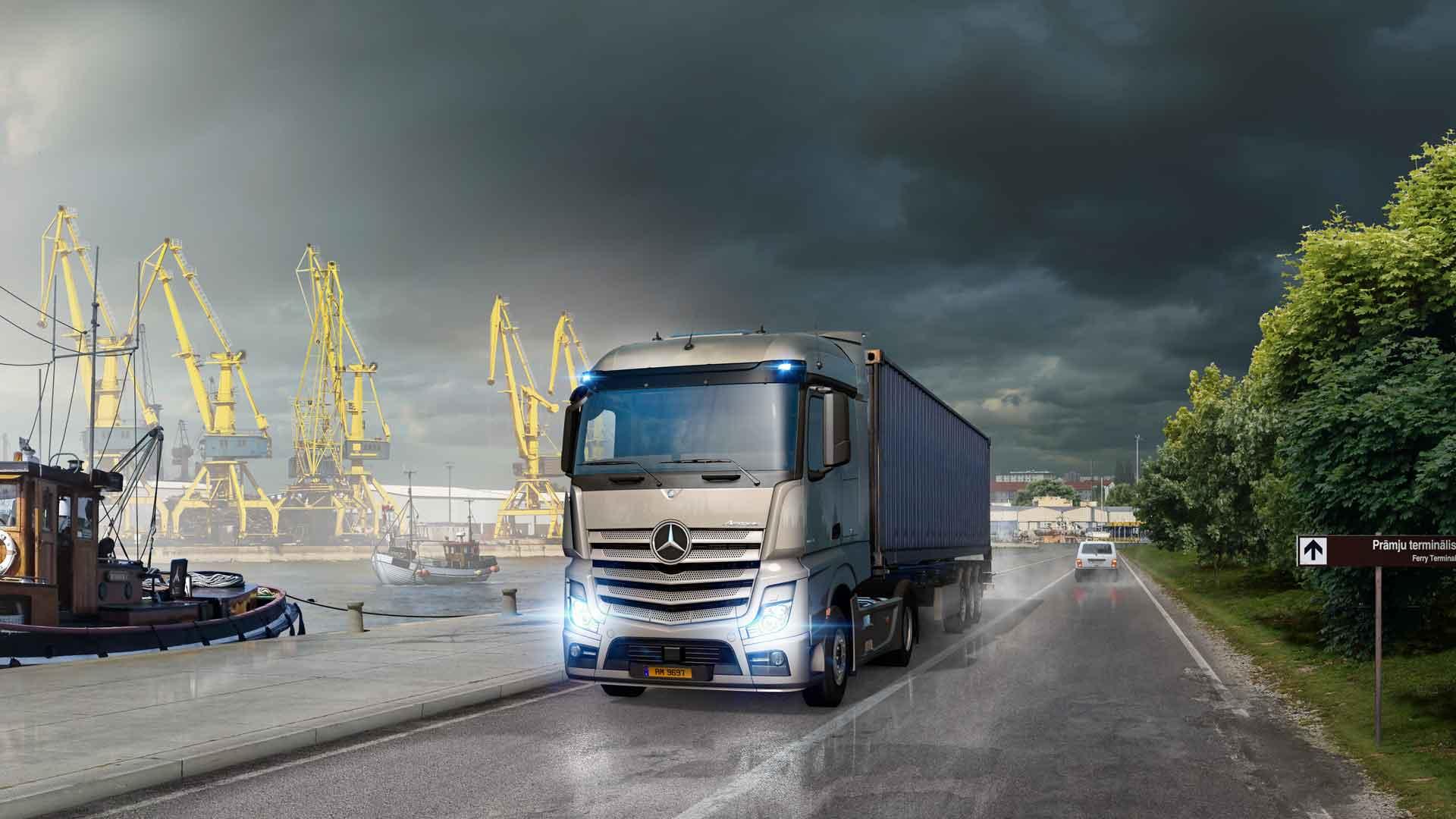 euro truck simulator 2 legendary edition astragon. Black Bedroom Furniture Sets. Home Design Ideas