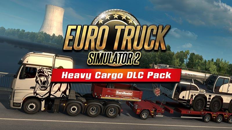 euro truck simulator 2 heavy cargo dlc pack astragon. Black Bedroom Furniture Sets. Home Design Ideas